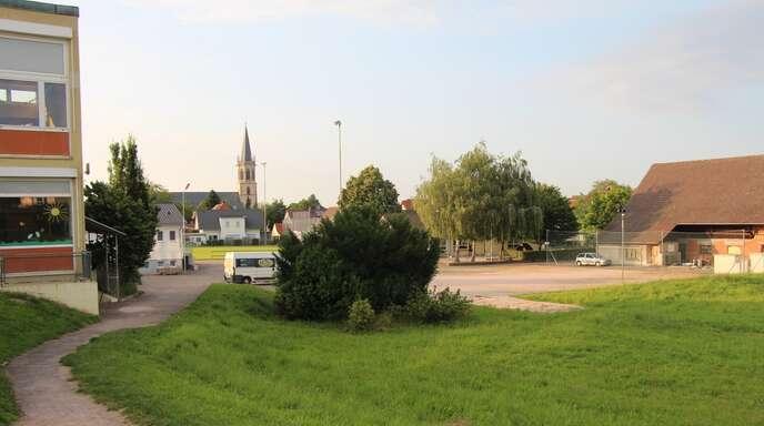 Mit den Tiefbauarbeiten zum Neubau des Nußbacher Kindergartens soll Ende August begonnen werden.