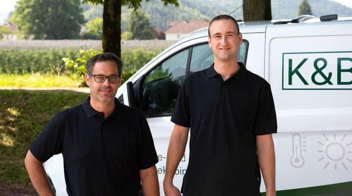 Volker Kölble und Simon Bücheler bringen jeweils 20 Jahre Erfahrung in der Branche mit.