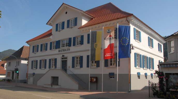 Gutachs Rathaus wurde mit Zuschüssen aus dem Landessanierungsprogramm modernisiert.