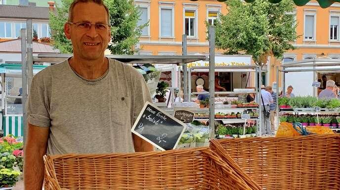 Fred Scherwitz ist vor zwei Jahren aus seinem Job ausgestiegen und hat den Hof des Vaters in Eckartsweier übernommen.