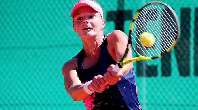 Anna Zaja will den TEC Waldau unbedingt in der ersten Liga halten.