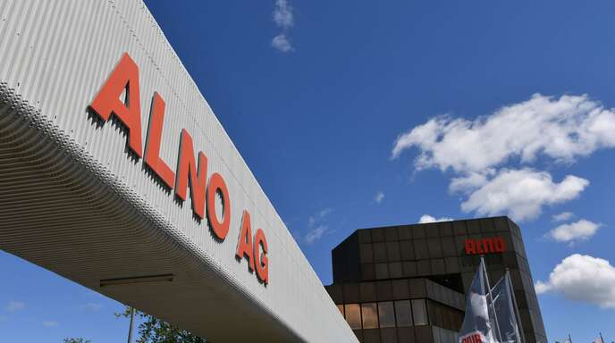 Rund 250000 Quadratmeter umfasst der Alno-Industriepark. Die meisten Gebäude sind längst an andere Firmen untervermietet.