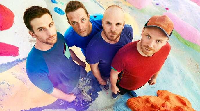 Die Band Coldplay