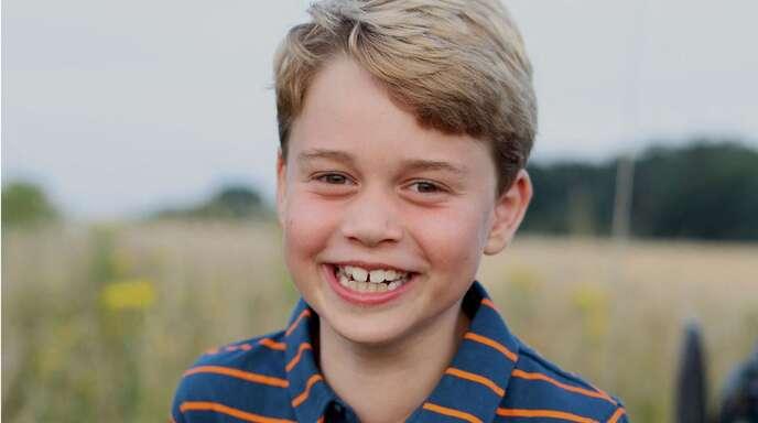 Prinz George lächelt in die Kamera – seine Mutter Kate hat das Foto geschossen.