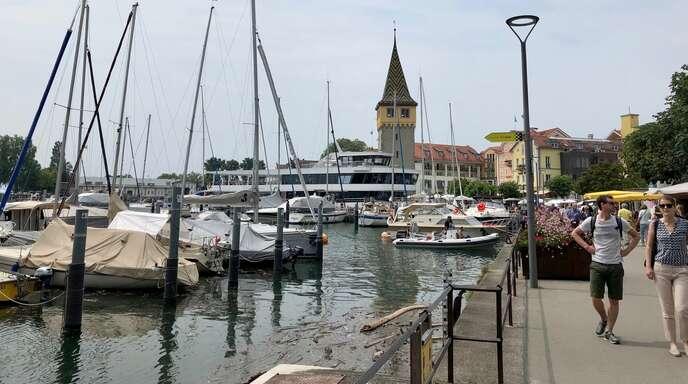 In der achten Woche haben wir in Lindau den Bodensee erreicht.