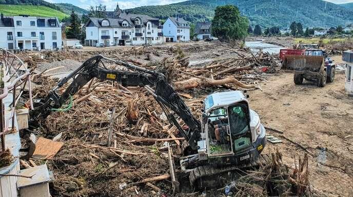 Mit einer unvorstellbaren Verwüstung wurden die Einsatzkräfte des Hochwasserzugs Ortenau konfrontiert.