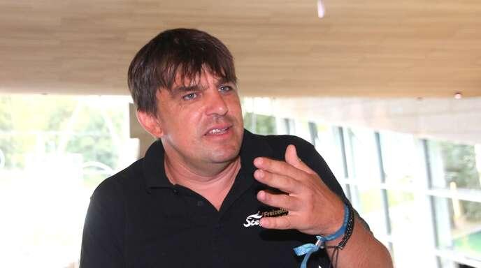 Stadtmarketingchef Stefan Schürlein fungiert auch als Vorsitzender der DJK Offenburg.
