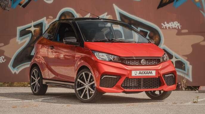 Die Mobile von Aixam werden entweder von einem sparsamen Dieselmotor betrieben oder sind Elektrofahrzeuge.