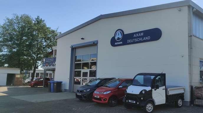 Die Leichtmobile GmbH & Co. KG, Generalimporteur von Aixam-Fahrzeugen, hat in Kenzingen ihren Sitz.