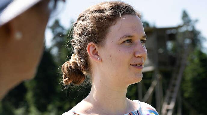 Sara Haug, Bundestagskandidatin der Grünen für den Wahlkreis Calw/Freudenstadt.