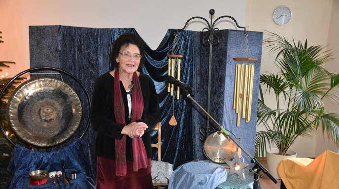 Märchenerzählerin Sigrid Voigt.