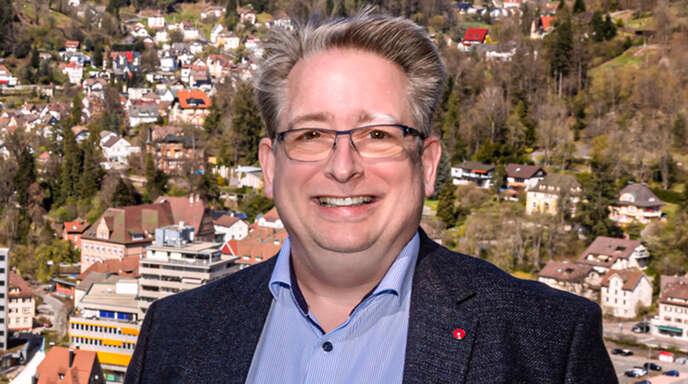 Bundestagskandidat Mirko Witkowski (SPD) tritt im Wahlkreis Rottweil/Tuttlingen an.