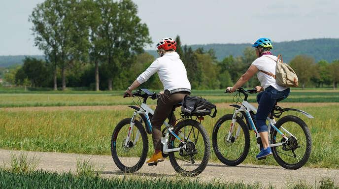 Ab auf's Fahrrad lautet die Devise der BI Rückenwind. Im September gibt es viele Angebote.