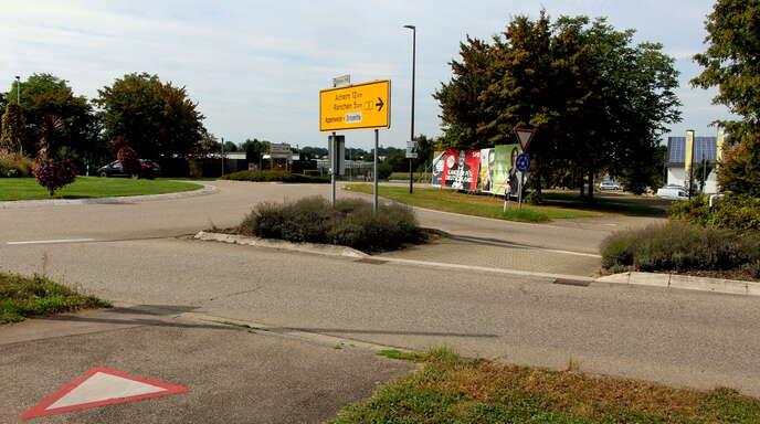 Ein Brennpunkt bei der Verkehrsschau ist der südliche Ortseingang von Appenweier.