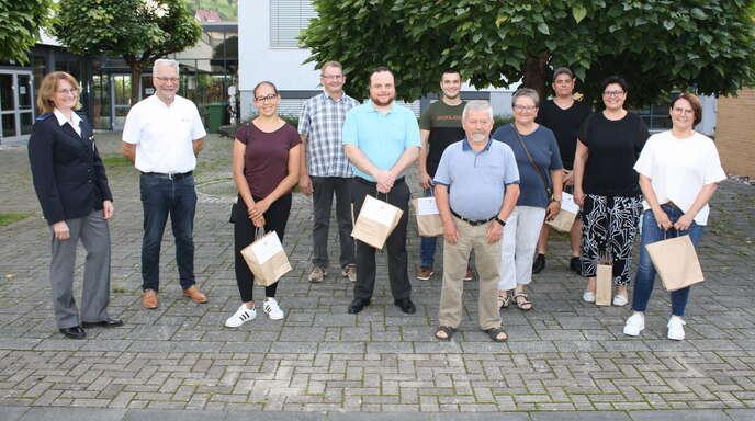 Treue Blutspender in Steinach geehrt.