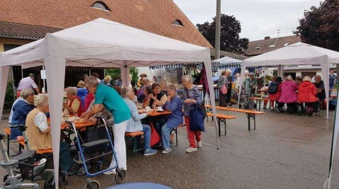 Der Markt feierte elfjähriges Bestehen.