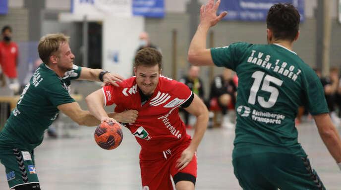 Christoph Baumann (hier vor elf Monaten am Ball) steuerte am Freitagabend vier Schutterwälder Tore bei der knappen 23:25-Niederlage gegen Baden-Baden bei.