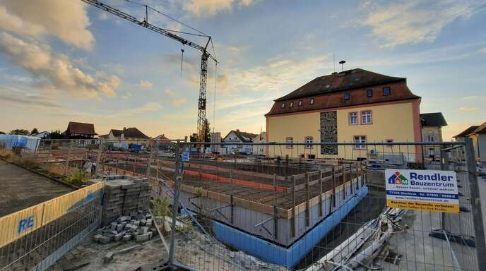 Der Appenweierer Rathausneubau nimmt immer mehr Kontur an. Am Montag vergab der Gemeinderat weitere Gewerke im Gesamtwert von gut 2,3 Millionen Euro.