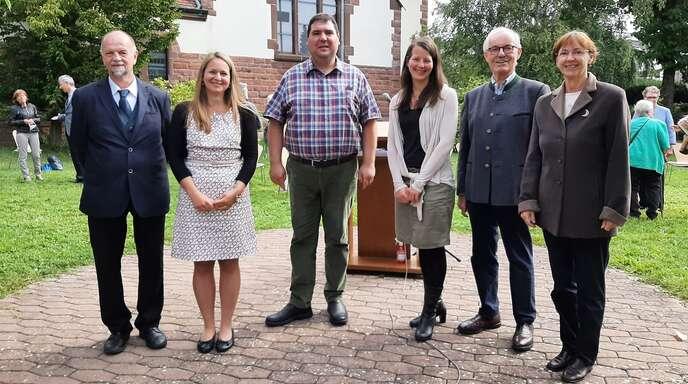 Teilnehmer der evangelischen Kirchenversammlung in Achern (von links): Edelbert Duy, Katrin Bessler-Koch, Kai Palme, Felicitas Otto, Christian Joos und Dagmar Wierer.