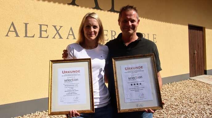 """Das Fachmagazin """"Selection"""" zeichnete das Weingut Alexander Laible mit der Besten Kollektion 2021 aus. Vier Weine aus Durbach erzielten dabei die Höchstpunktszahl."""