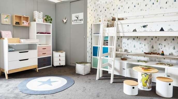 Hier fühlen sich die Kleinen wohl. Selbstverständlich bieten auch diese Möbel und Accessoires die gewohnte Schneckenhaus Qualität.
