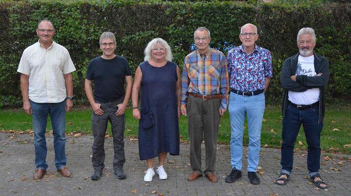 Der Vorstand des Film- und Fotoclubs Kehl (von links): Klaus Oesterle, Hans Bauer, Vorsitzende Ellen Matzat, Stellvertreter Peter Schulze, Bernd Brand und Peter Heck.