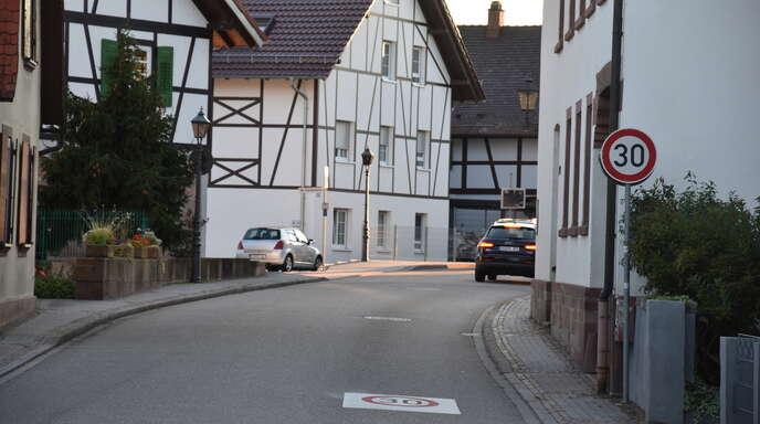 Tempo 30 wie auf der Hauptstraße in Willstätt...