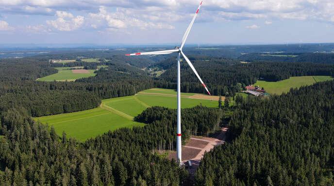 Der Windpark Falkenhöhe auf Gemarkung Schramberg, Hornberg-Reichenbach und Lauterbach ist nun in Betrieb.