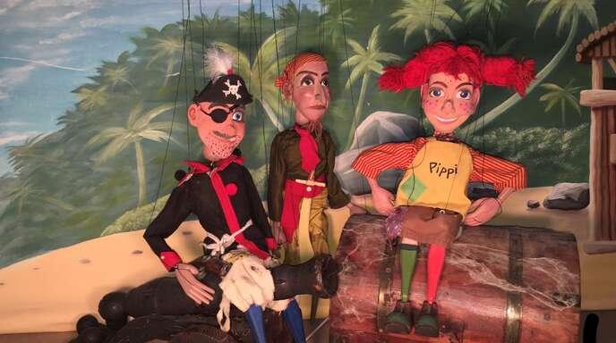 Das Marionettentheater Cinderella gastiert in Offenburg.