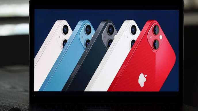 Das neue iPhone 13 ist wieder in verschiedenen Farben erhältlich.