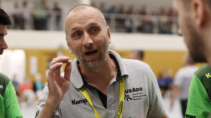 TVO-Trainer Daniel Kempf musste im Training diese Woche nur ein paar Kleinigkeiten ansprechen, die es zu verbessern gilt.