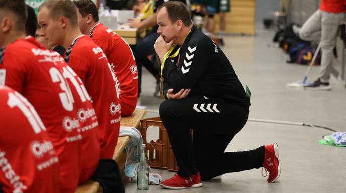 Gerade in der Abwehr sah TuS-Coach Nico Baumann noch einiges an Potenzial.