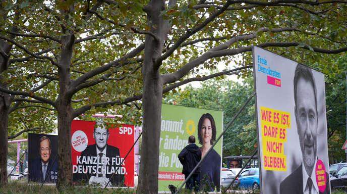 Die Vorsitzenden der Grünen und der FDP versprechen glaubwürdiger als die alten Volksparteien, in der neuen Regierung für Fortschritt einzutreten.