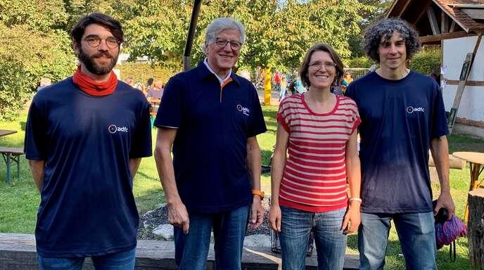 Der Vorstand des Kehler ADFC (von links): Nikolai Prokop, Peter Platte, Bénédicte Fröhlich und Martin Bowen.