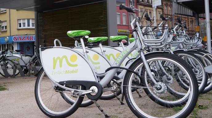 Leihfahrräder sind Teil der Mobilitätsstationen, die auch in Oberkirch entstehen könnten.