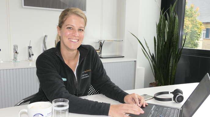 Clarissa Lehmann, Leitung der Ausbildung bei Hansgrohe in Schiltach