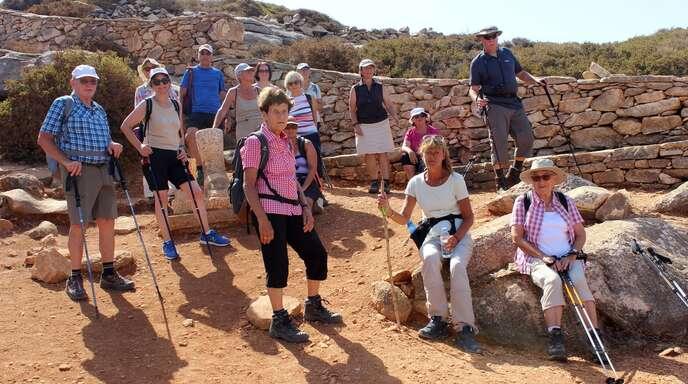 Mitglieder des Kehler Schwarzwaldvereins waren auf der Insel Naxos unterwegen. Bei sommerlichen Temperaturen erkundeten sie die Geschichte und Landschaft der ägäischen Insel.