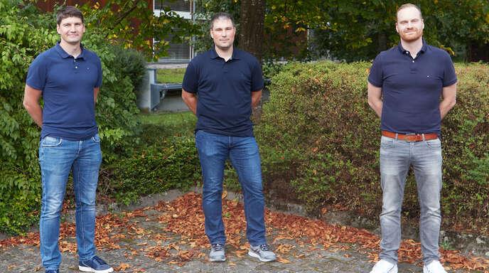 Das neue Führungstrio der SG Gutach/Wolfach: Jens Gudelius (von links), Stefan Staiger und Tobias Aberle.