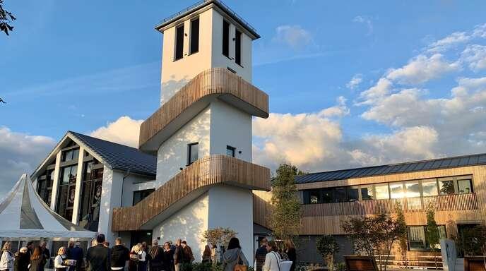 Die ehemalige Martin-Luther-Kirche in Sundheim präsentiert sich im Village Kehl in einem neuen Gewand.