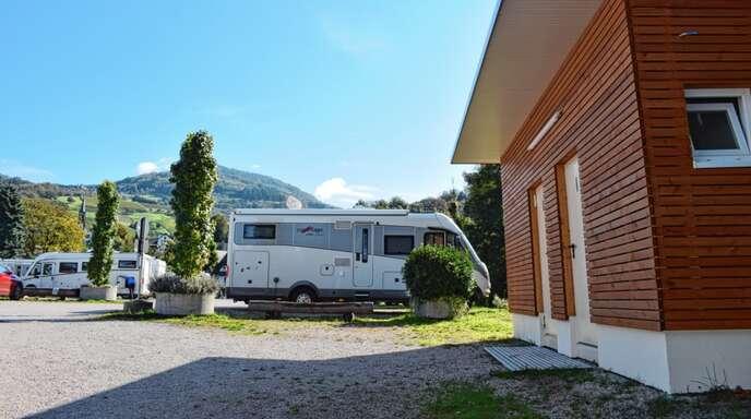 Sehr gefragt ist der Wohnmobilstellplatz in Sasbachwalden. Ab kommendem Jahr steigt der Preis vor Nacht von zehn auf 12 Euro.