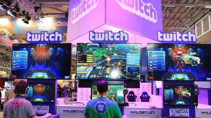 Auch auf der Gamescom, der weltweit größte Messe für Computer- und Videospiele, ist Twitch vertreten.