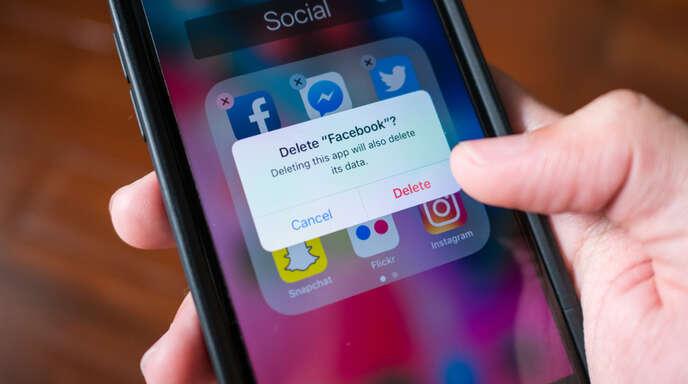 So löschen Sie Ihr Facebook-Profil endgültig.
