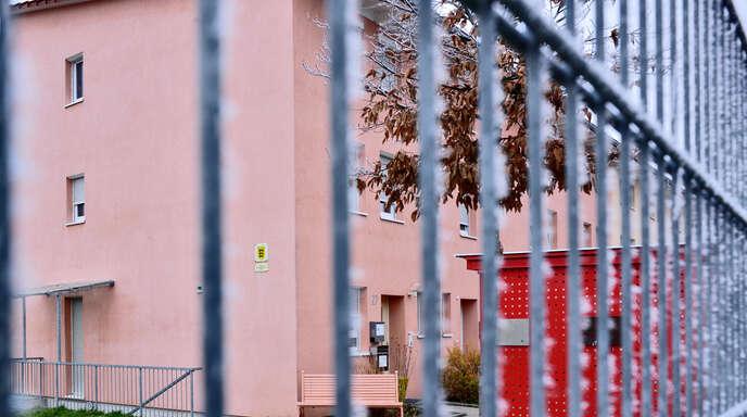 Die Unterkunft für Flüchtlinge in der Lise-Meitner-Straße war Anlaufsstelle für eine Gruppe von Aktivisten, die dort Missstände aufdecken wollten.