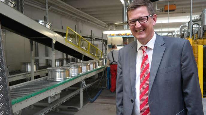 Die Restrukturierung des Unternehmens ist abgeschlossen. Geschäftsführer Jürgen Lohmann setzt auf Automatisation der Prozesse in der Fertigung.