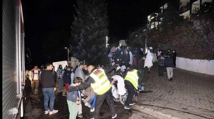 Nachdem sich die Aufregung nach dem Feuer im Gebetsraum wieder gelegt hatte, durften die Bewohner nach der Evakuierung wieder zurück ins Bel Air.