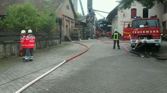 Gebäudebrand in Kappelrodeck