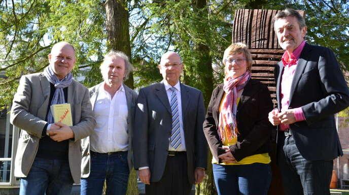 Engagiert in der Stiftung »Bürger für Lahr« (von links): Heinz Siebold, Uwe Baumann, Jürgen Schmidt, Ulrike Derndinger und Joseph Foschepoth.