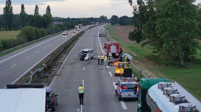 Unfall A5 Lahr
