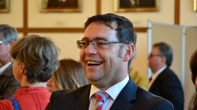 Klaus Muttach wurde als Acherner Oberbürgermeister wiedergewählt.
