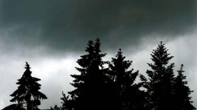 Dunkle Wolken über dem Schwarzwald: Ein Gutacher Bauer hat mit rechtsradikalen Umtrieben die Gemeinde in die Schlagzeilen gebracht.